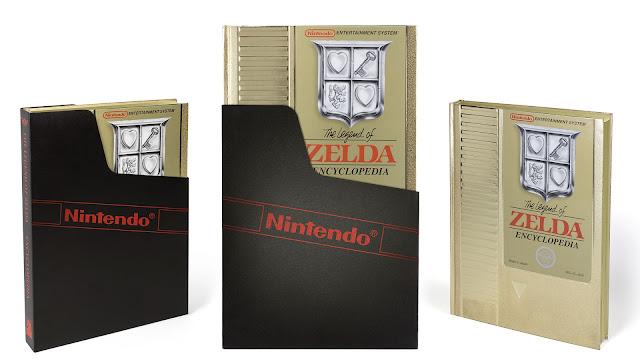 Espectacular enciclopedia de Zelda en forma de cartucho NES
