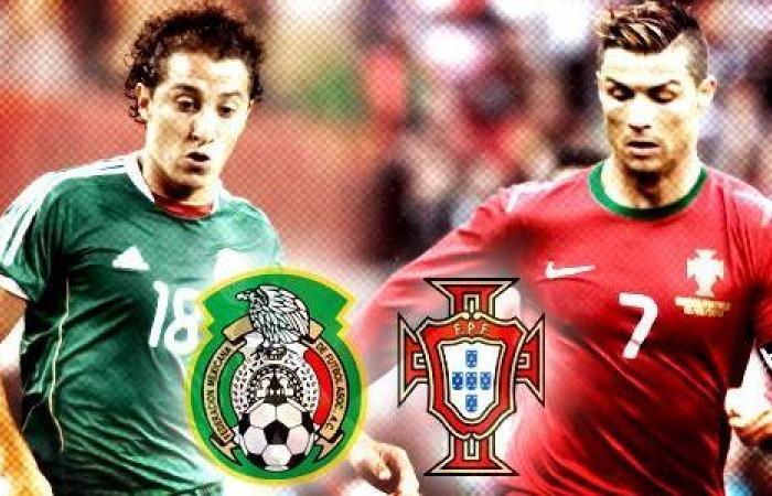 رابط مشاهدة مباراة البرتغال والمكسيك اليوم الأحد 2-7-2017 بث مباشر
