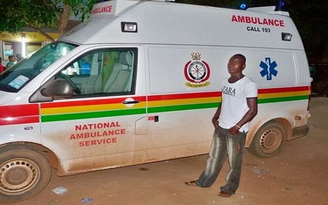 National Ambulance Service had no fuel for four months