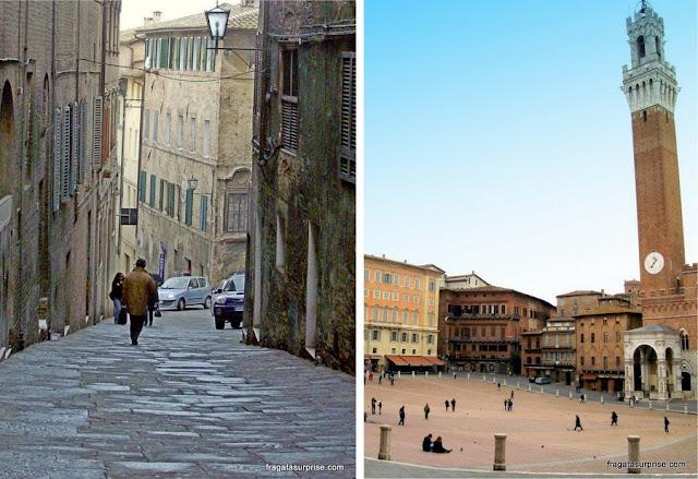 Siena, Itália, Piazza del Campo