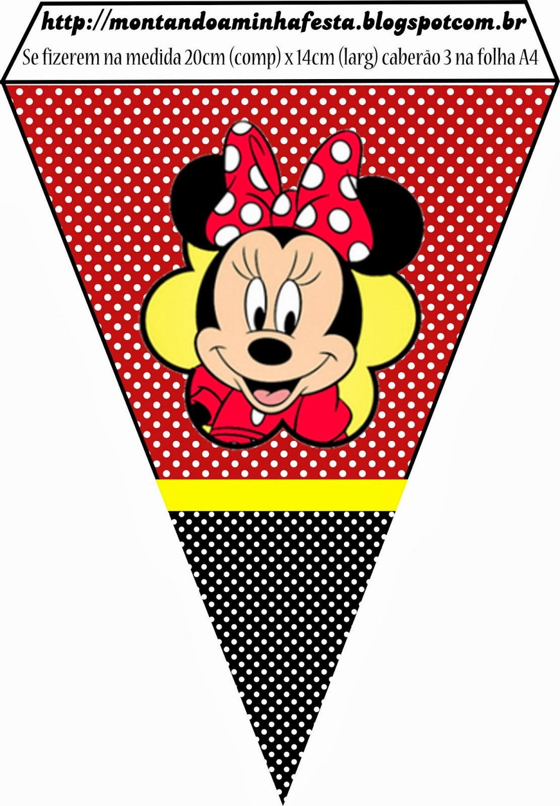 Minnie in Red: Free Printables and Party Invitations. | Oh ...