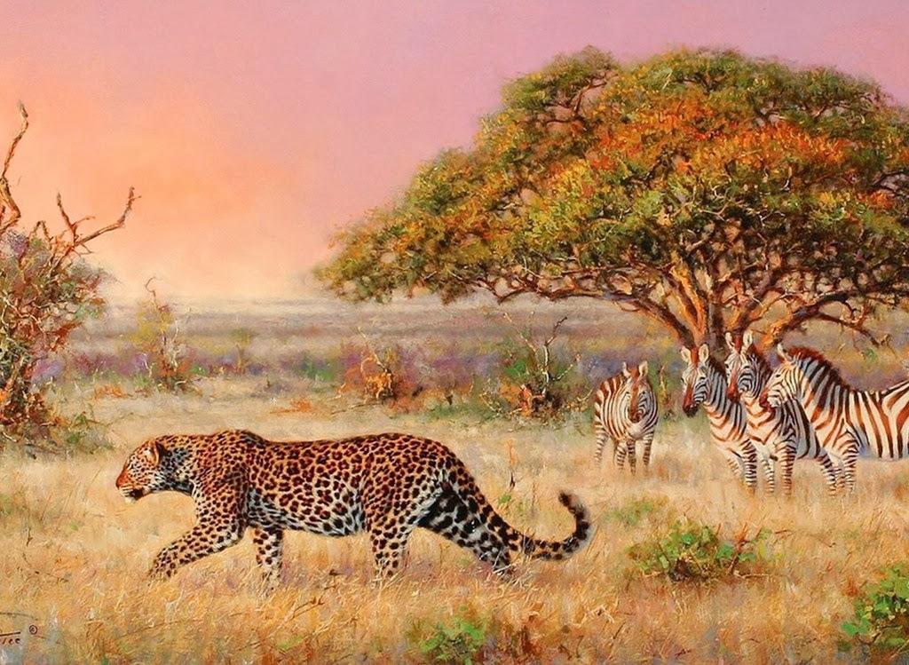 Paisajes De Animales: Imágenes Arte Pinturas: Paisajes Africanos, Animales