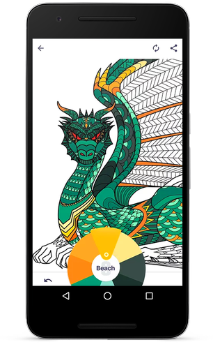 Coloring Book For Me Mandala V14 Premium APK