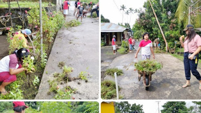 Usai Giat Jumpa JGKWL, PemDes Kolongan Dan Tripika Kecamatan Kalawat Gelar Operasi Yustisi