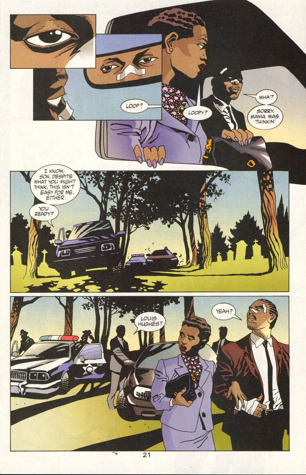 Read online 100 Bullets comic -  Issue #19 - 23
