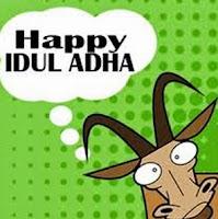 DP BBM ucapan idul adha dari kambing kurban