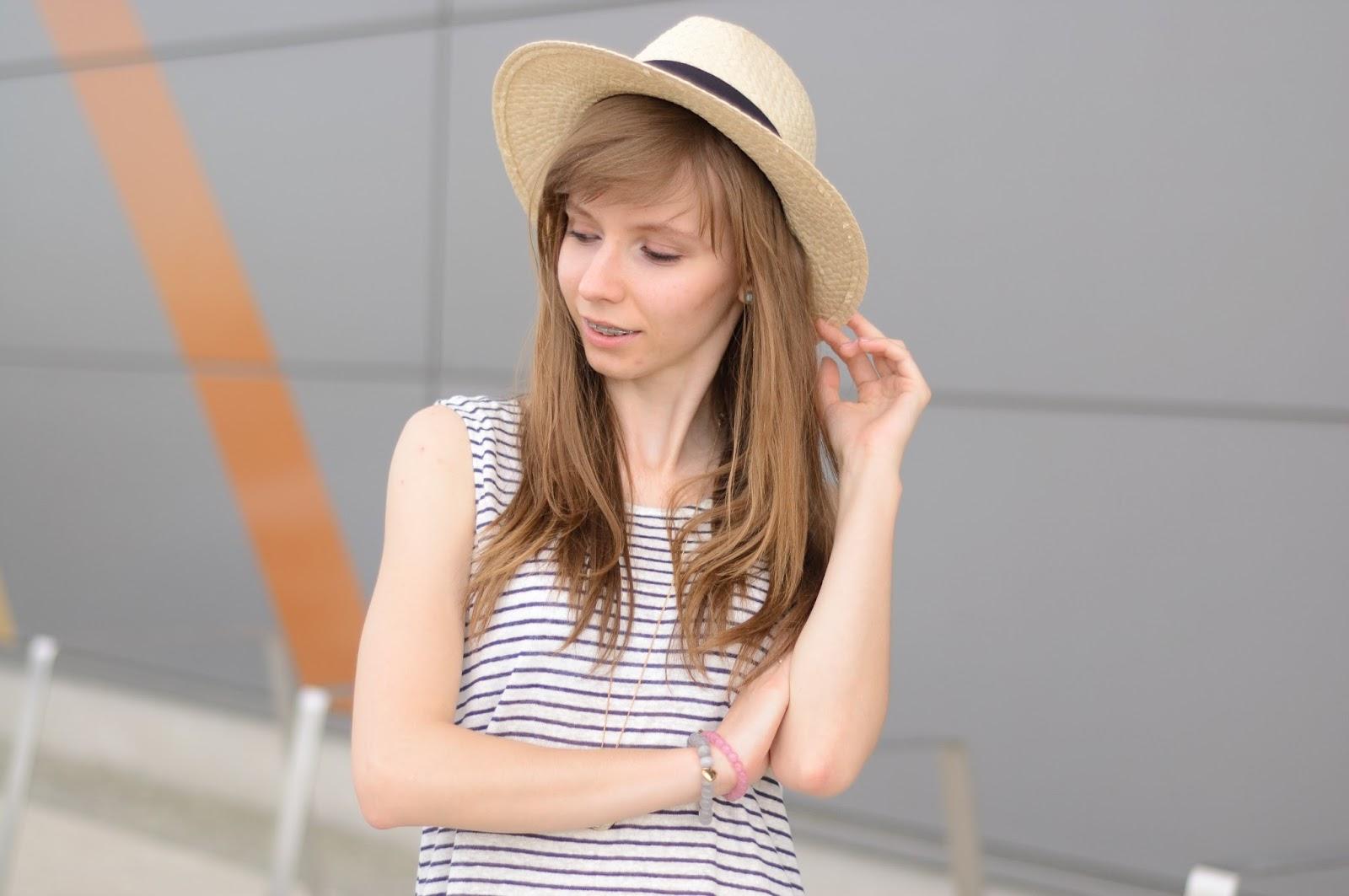 Lniana tunika | stylizacja na randkę | LIDL ESMARA
