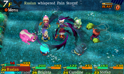Etrian Mystery Dungeon Screenshot-3