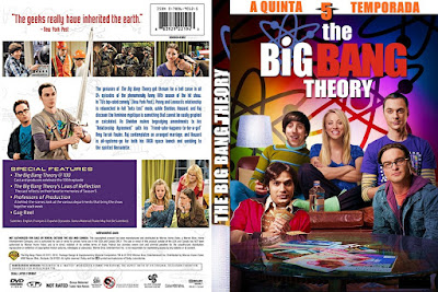 Série The Big Bang Theory 5º Temporada Completa DVD Capa