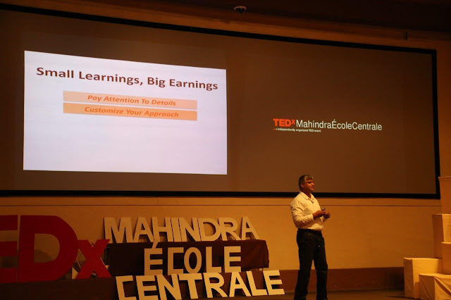 Mahindra Ecole Centrale(MEC) hosts TEDx Conference