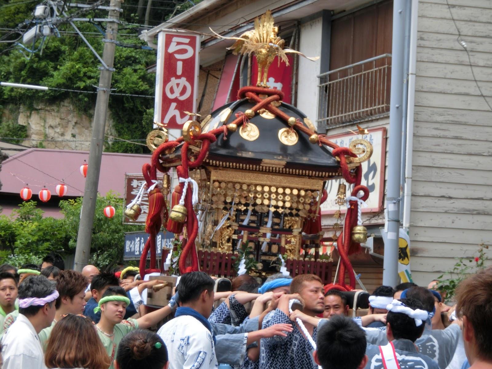 極楽寺八雲神社例祭