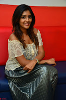Eesha in a cute deep neck top and Skirt at at Big FM 047.JPG