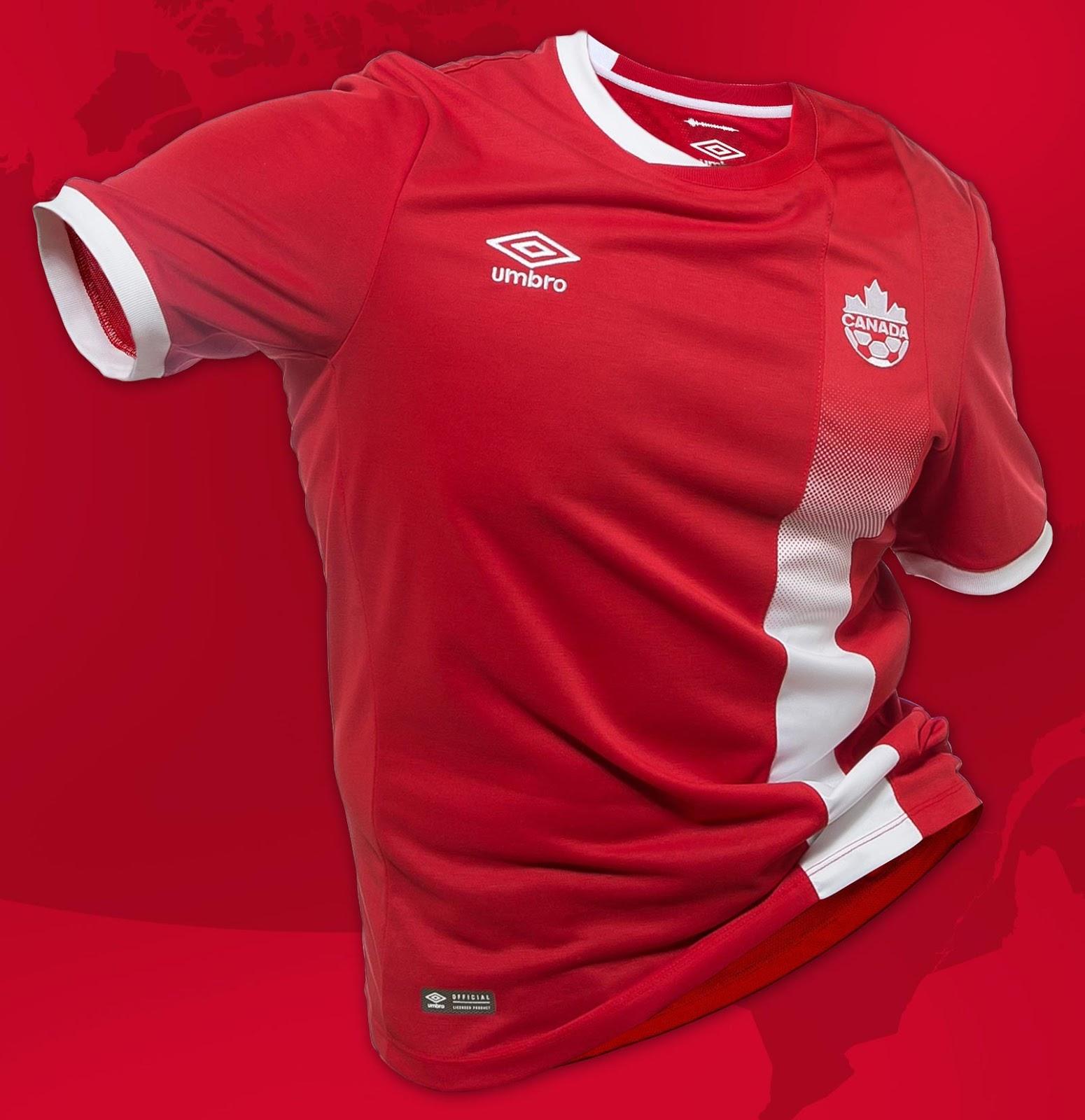 Canada 2016 Olympics Kit Revealed Footy Headlines