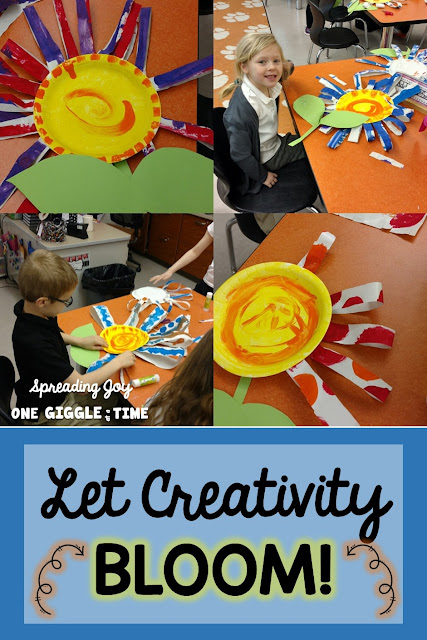 Looking for a fun, creative, easy to make flower craft for kids? This simple,colorful paper plate flower craft is the perfect way to welcome spring!