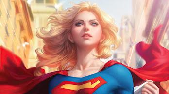 Supergirl, DC, Superhero, Girl, 4K, #4.3143