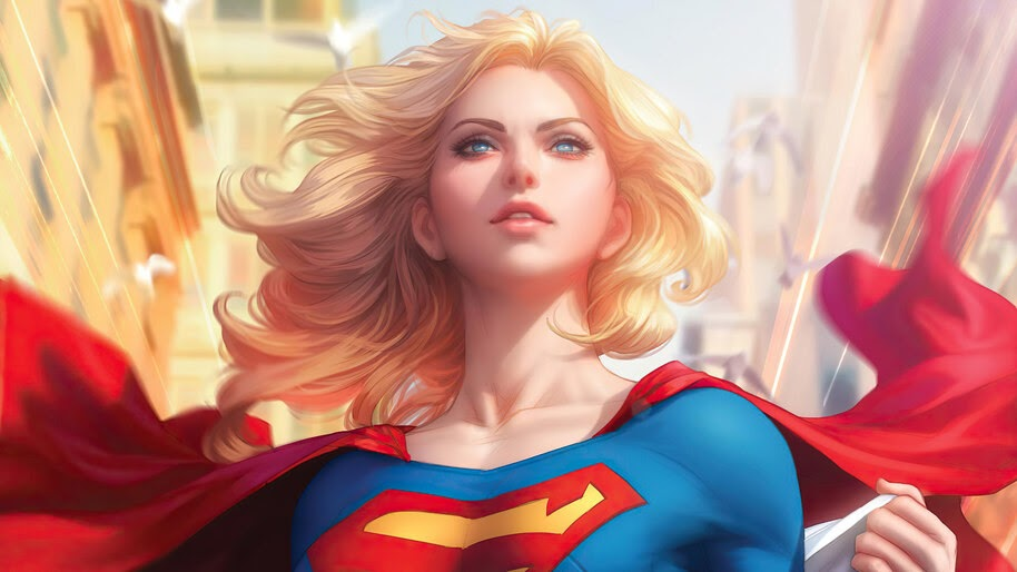 Supergirl, DC, Superhero, Girl, 4K, #4.3143