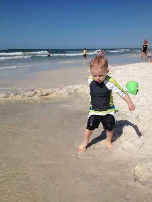 What you need when taking a baby and toddler to the beach