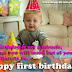 Top 30 Images happy birthday wishes for baby