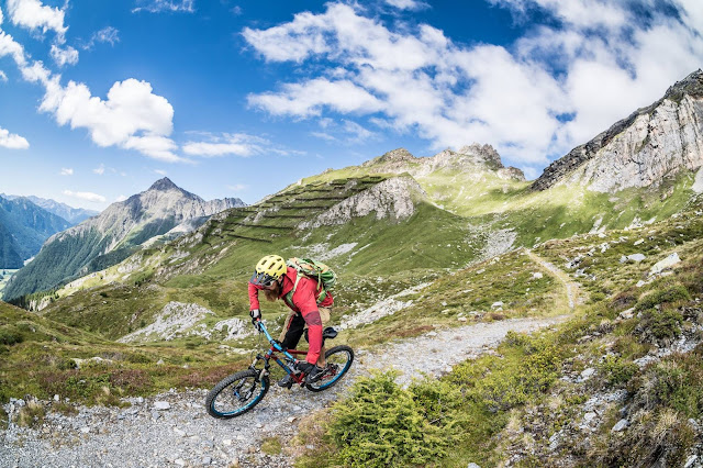 Mountainbiken am Brenner