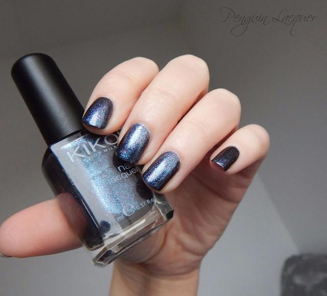 kiko nail lacquer 524 blue multicolour