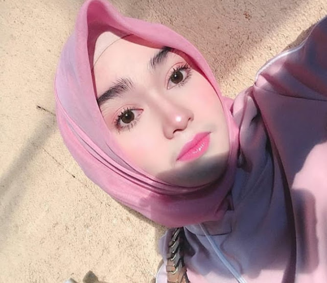 Cute hijaber from East Java