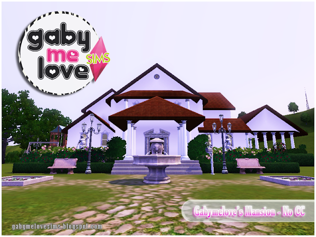 Gabymelove's Mansion |NO CC| ~ Lote Residencial, Sims 3.