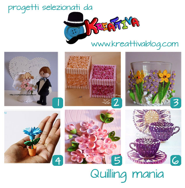 raccolta tutorial quilling