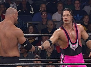 WCW Starrcade 1999 - Bret 'The Hitman' Hart defended the WCW title against Goldberg