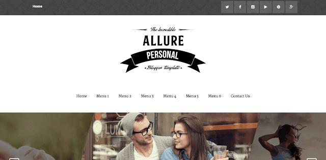 Allure Blogger Template