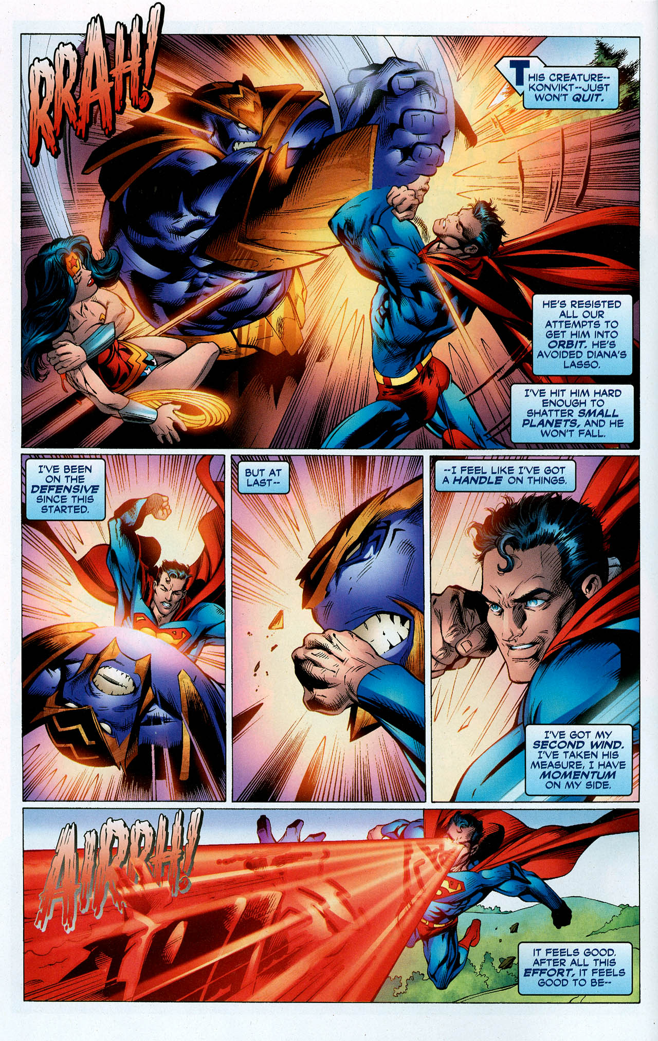Read online Trinity (2008) comic -  Issue #5 - 4