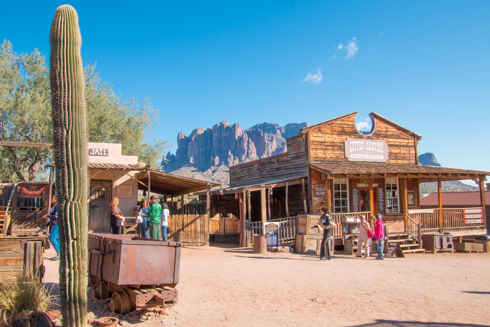 Kastle\'s Journey: Goldfield Ghost Town, Organ Stop Pizza and Mesa ...