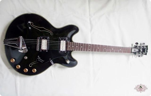 guitarra semi acústica