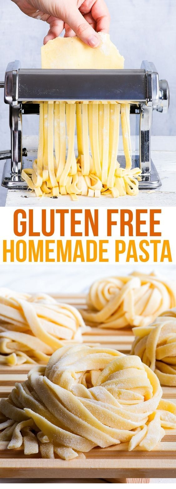 Homemade Gluten Free Pasta (Gluten & Dairy Free)