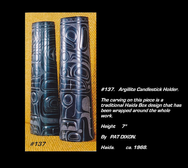 Pat Dixon argillite carving