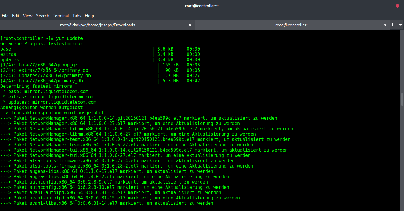 Top Things to do after fresh installation of CentOS 7 x