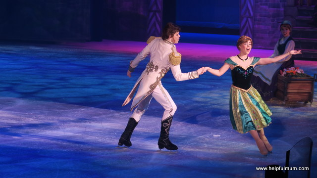 Hans and Anna Disney on Ice