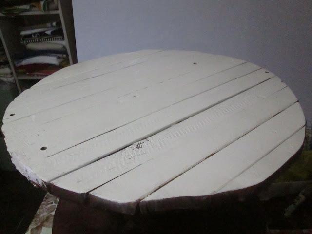 IMG 0155 - שולחן קפה מסליל חוטי חשמל
