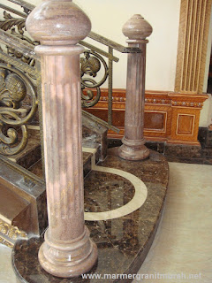 staircase marmer dark emperador