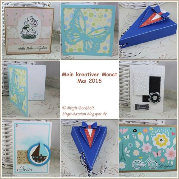 Kreativer Monat - Mai 2016