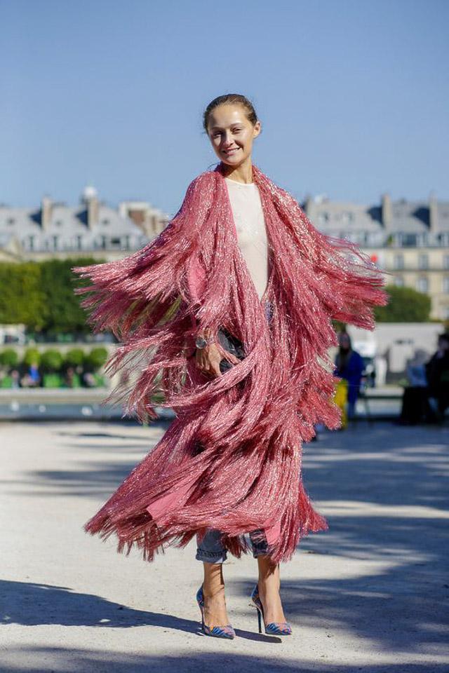 Invitadas elegantes... ¡y con flecos! | A todo Confetti - Blog de ...