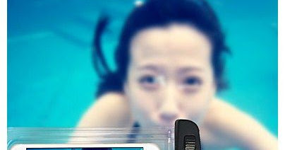 Swimming Phone Pouch 20M Waterproof Phone Bag