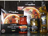 Napolina pizza bases
