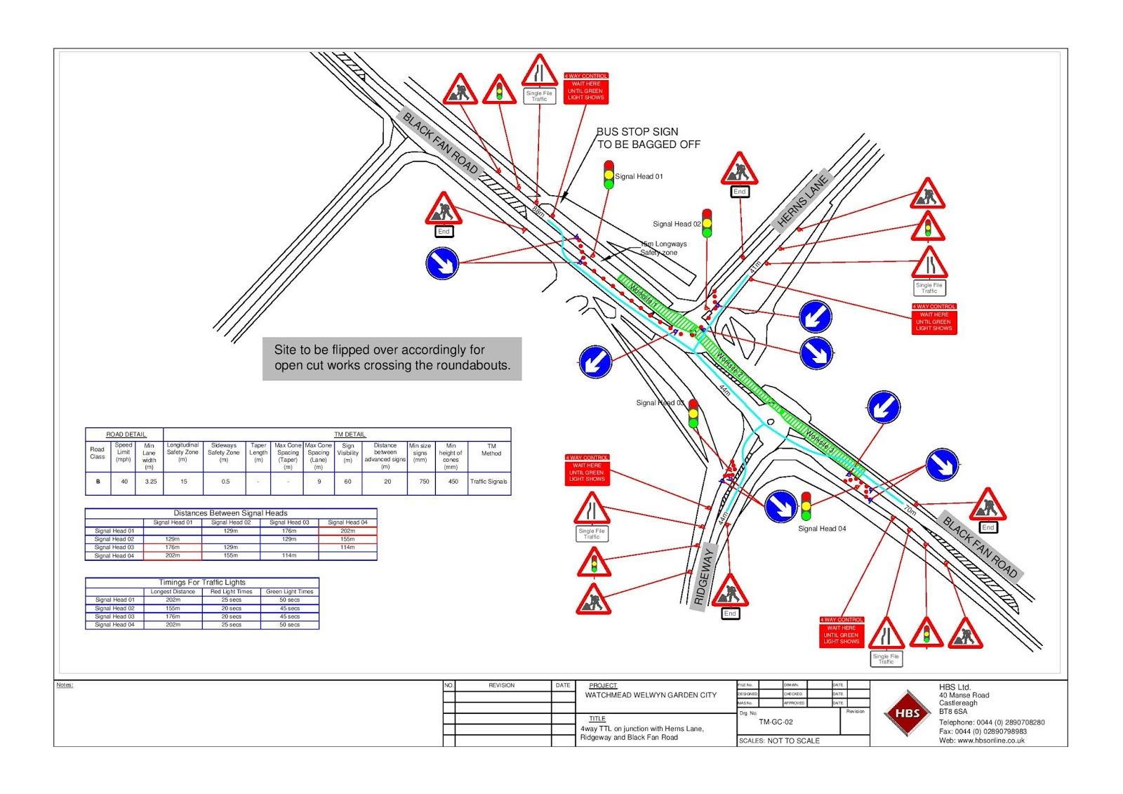 Welwyn Garden City Traffic Management Proposal