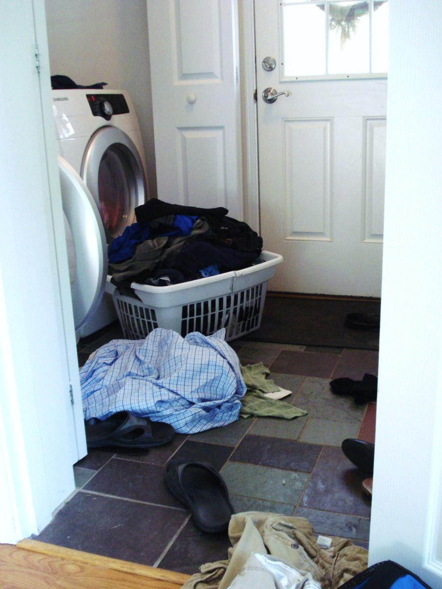 Heart Maine Home: A laundry room in the works
