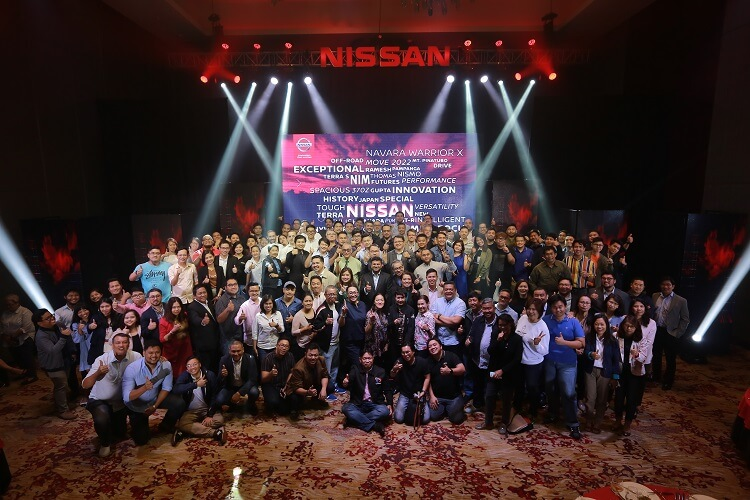 Nissan's Media Thanksgiving Event