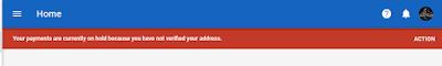 Notifikasi PIN Google Adsense