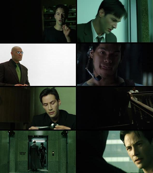 The Matrix 1999 Dual Audio Hindi 720p BluRay
