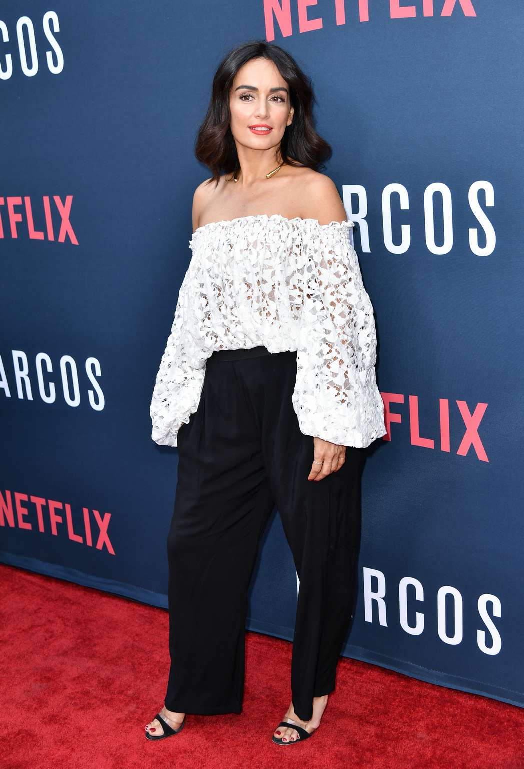 Hottest actress Ana de la Reguera – Netflix's Narcos Season 2 Premiere in Hollywood, LA on August 24, 2016