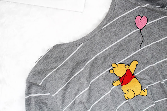 Womens winnie the pooh t shirt Primark