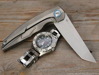 Shirogorov RFT style titanium - D2 flipper